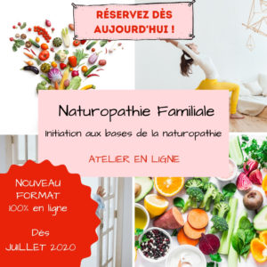 Initiation à la Naturopathie Familiale